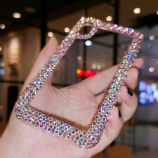 Bling Side Top A Crystal phone case Customize cover For Various Phone Case