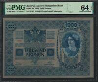 Austria 1000 Kronen 1902 - PMG 64 EPQ