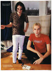 Placebo Brian Molko Stefan Olsdal 1990s Magazine Picture Print Cutting MP040