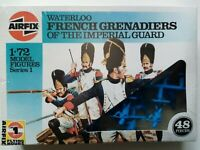 (7,REF) Airfix 1/72 OO scale Waterloo French Grenadiers in shrink wrap from 90's