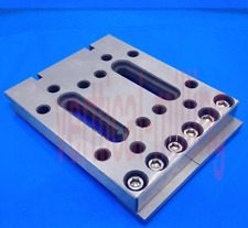 1pcWire cutting Slow Walk Plate Press Fixture Board Stainless Jig 120*100*12EDM