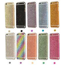 Full Body Glitter Bling Sticker Protector Case Cover Skin for iPhone 6s Plus 5s