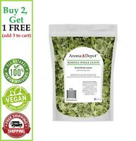 2oz Moringa Dried Leaves 100% Pure Natural oleifera Leaf Hoja moringa Food Grade
