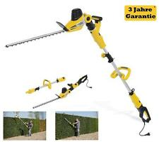 2 in 1 telescopic hedge trimmer arm handle Pruner electric 750 W