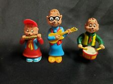 Vintage Alvin and the Chipmunks Wind Up Toys Simon Theodore 1983