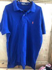 Para hombres Camisa Ralph Lauren Polo Tamaño Mediano Azul