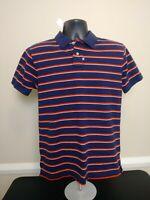Vintage Ralph Lauren Polo Jeans Co Mens Striped Polo Shirt Size M Medium NWT