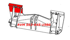 Rvm Repair Panel For Mount Plate 6709215 Lh 3 Pieces Bobcat Bobtach 753 763