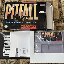 New listing Pitfall Complete for SNES!Authentic.Clean.Nintendo. Collector Quality!NM Wow🤩👀