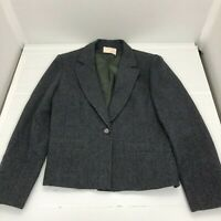 Vintage Pendleton Womens 1 Button Wool Jacket Small or Medium