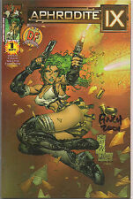 Aphrodite Ix 1 Dynamic Forces Variant Signed David Finch 2001 Image Nm Top Cow