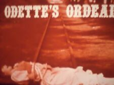 16mm Odette's Ordeal Educational Film On Movie Making 1600'
