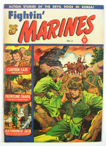 Fightin' Marines Golden Age Comic Book #3 1951
