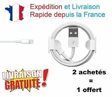 CABLE LIGHTNING POUR IPHONE USB CHARGEUR 5 6 6S 6 PLUS SE 7 PLUS 8 X XS XR IPAD