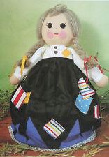 Cinderella Rag Doll, Topsy-Turvy Toy Doll Sewing Pattern