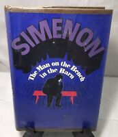 Georges Simenon The Man On The Bench In The Barn 1ST EDITION HCDJ 1968 Ex-Lib