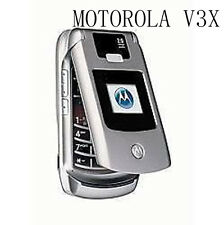 Unlocked Motorola Razr v3x Flip Cellphone Camera Bluetooth Original Mobile Phone