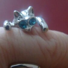 Cats eyes ring wrap around style reduced