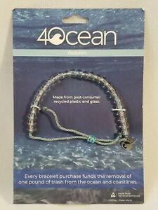AUTHENTIC 4Ocean Limited Edition Hand Made Beaded Bracelet Dolphin NEW NIP
