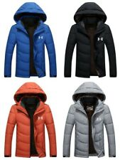 Under Armour Winter Men's UA Down Hooded Jacket High Quality Down Coat Parka