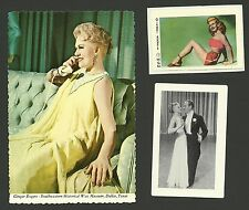 Ginger Rogers Movie Actress  Fab Card Collection Fred Astaire Kath Mayberg