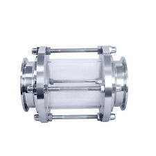 """3"""" 76Mm Flow Tri Clamp Ferrule Sanitary Sight Glass Sus 316 Stainless Steel 316"""