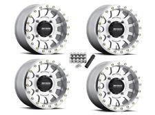 """Method 401 Beadlock UTV 15"""" Wheels Rims 15x7 4+3 RZR XP Turbo 1000 900 800"""
