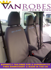 Ford Transit Van (2006-2014). Tailored Seat Covers. With Free Embroidery