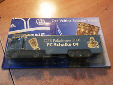CAMION / TRUCK / LKW  BIERE BIER BEER VELTINS SCHALKE 04 2001  NEW in box