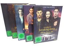 DVD Film - Twilight Saga komplette Saga 2 Disc Fan Edition (mit OVP) 5 Filme!