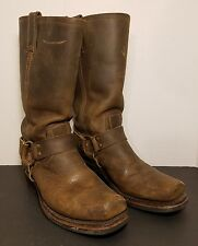 Pre-Owned Frye Harness Boot, 77300-3, size 8.5 M Women's