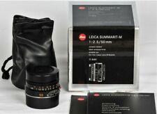 Leica Summarit-M 50mm f2.5 1:2.5/50 Nero 6-bit M6 M7 M9 M10 COME NUOVO | MINT