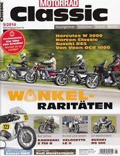 MC1405 + HERULES W 2000 + NORTON Classic + SUZUKI RE 5 + Van Veen OCR 1000