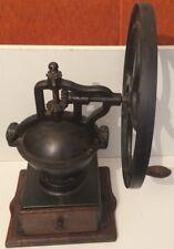 moulin à café de comptoir peugeot frères n° 3 rare  18 kg roue 39 de diamètres