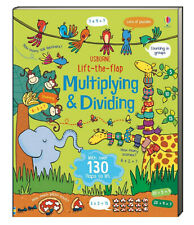 Usborne Lift-The-Flap Multiplying and Dividing  (Board Book) FREE ship $35
