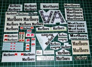"GRAB BAG - 1/18 Assorted Ferrari ""Marlboro"" Bodywork Decals (Schumacher Era)"