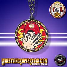 WWE John Cena Red & Yellow Reversible Spinning Pendant
