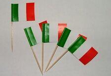Flaggen Zahnstocher Italien Fahne Flagge Minipicker Partyzahnstocher