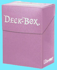 Ultra Pro DECK BOX PINK NEW Standard & Small Size Gaming Card Holder 82481 Case