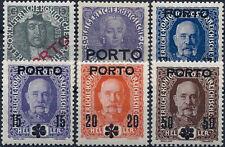 "1916 ""Austria"" Postage Dues, complete set 6 values VF/MNH! CAT 45$"