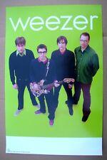 Weezer The Green Album Tour Promo Poster Mint- 2001 Original! Very Nice
