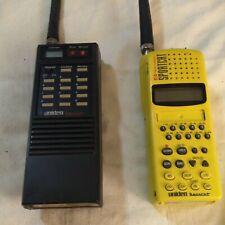 2-Uniden Bearcat Sportcat Sc150 Yellow Twin Turbo Hand-Held Sports Scanners