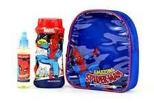 SPIDER-MAN - Set zainetto con gel doccia shampoo e Eau De Toilette - originale