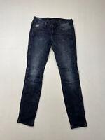 G-STAR RAW 5620 CUSTOM SKINNY Jeans - W29 L32 - Navy - Great Condition - Women's