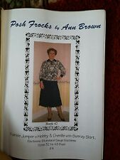 Posh Frocks machine knit patt. please see description and photos