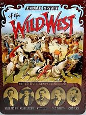 American History of the Wild West,NEW! 2 DVD TIN BOX SET,WYATT EARP,Gunfighters