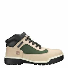 timberland FABRIC LEATHER FIELD BOOT SAND US MEN SIZES TB0A1RC9257