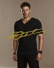 Signed PREPRINT Supernatural Jensen Ackles Autograph 8x10 Photo #1