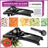 Vegetables Slicer Mandoline Cutter Steel Blades Julienne Kitchen Potato Manual