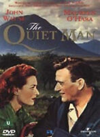 THE QUIET MAN DVD John Wayne Maureen O'Hara John Ford Original UK Release New R2